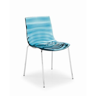 Rent to own L'Eau Side Chair Finish: Glossy Opt...