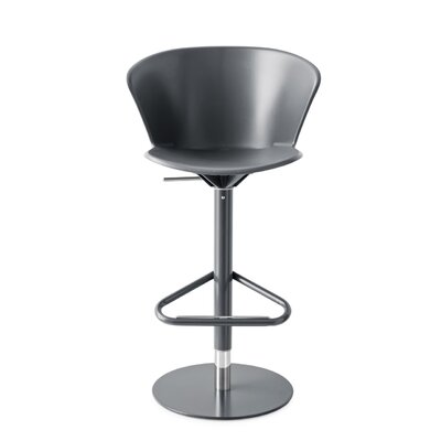 Bahia - Swivel stool Finish: Matt Gray