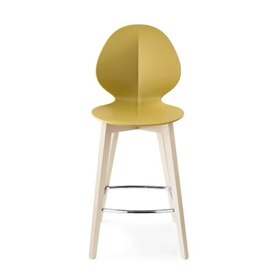 Basil W - Stool Finish: Matt Mustard Yellow