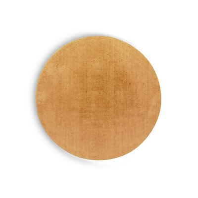 Medley Yellow Rug Rug Size: Round 710