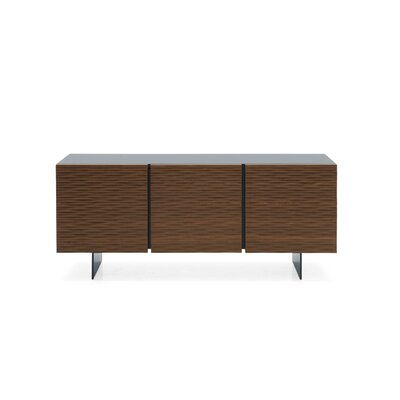 Opera - Sideboard Cabinet Color: Matt Gray/Smoke