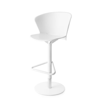 Bahia - Swivel stool Finish: Matt Optic White