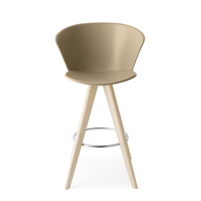 Bahia W - stool Finish: Bleached Beech /Matt Nougat
