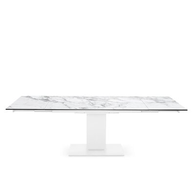 Echo - Extending table, pedestal base