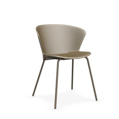 Bahia Side Chair Finish: Nougat