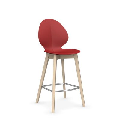 Basil W - Stool Finish: Matt Red