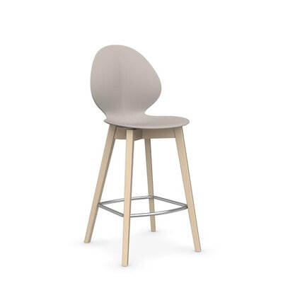 Basil W - Stool Finish: Matt Taupe