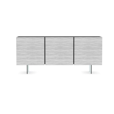 Opera - Sideboard Cabinet Color: Matt Gray/Optic White