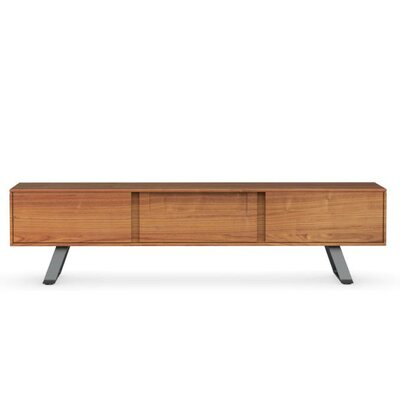 Secret 73 TV Stand Color: Walnut/Matte Gray