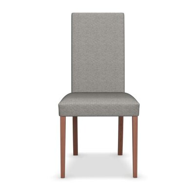 Dolcevita - Upholstered Chair Upholstery: Cord, Finish: Walnut