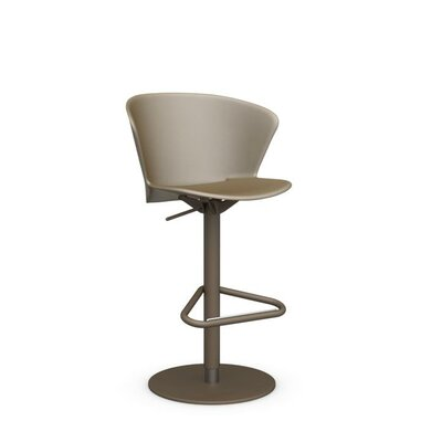 Bahia - Swivel stool Finish: Matt Nougat