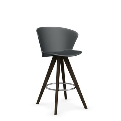 Bahia W - stool Finish: Smoke /Matt Gray
