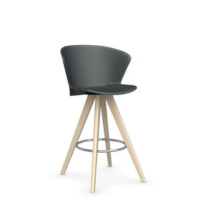 Bahia W - stool Finish: Bleached Beech /Matt Gray