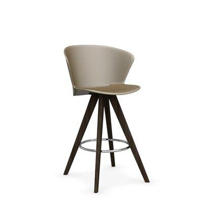 Bahia W - stool Finish: Smoke /Matt Nougat