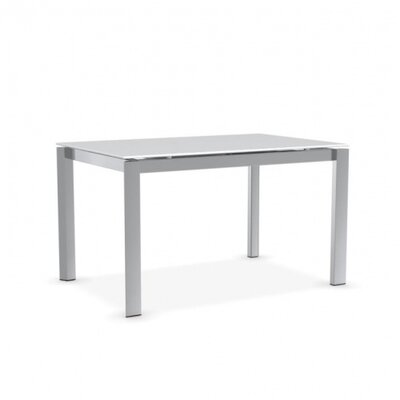 Duca - Extending Table Finish: Polished Aluminum