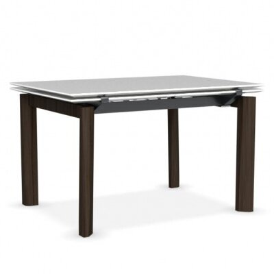 Esteso Wood - Extending table Base Finish: Smoke