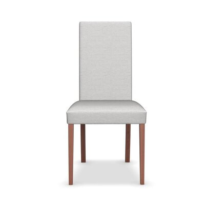 Dolcevita - Upholstered Chair Upholstery: Sand, Finish: Walnut