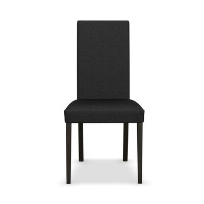 Dolcevita - Upholstered Chair Finish: Wenge, Upholstery: Anthracite