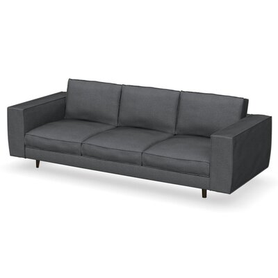 Square Modular Sofa Finish: Smoke