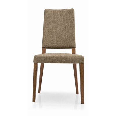 Sandy Side Chair Upholstery: Cord, Finish: Walnut