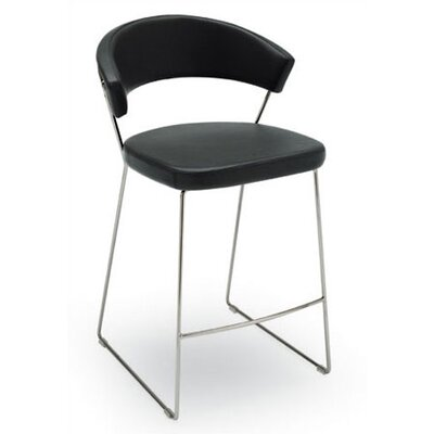 New York 25.63 Bar Stool Finish: Black