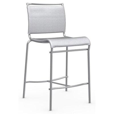 Air 25.63 inch Bar Stool Upholstery: Grey
