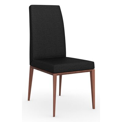 Bess Chair Frame Color: Graphite, Upholstery Color: Optic White