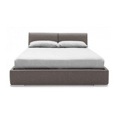 Alameda Upholstered Platform Bed Size: King, Finish: Cord