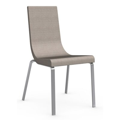 Cruiser Side Chair Finish: Chromed, Upholstery: Fabric - Denver Cord
