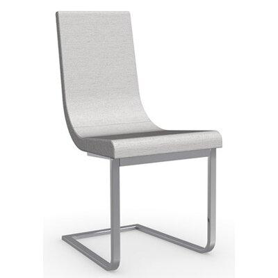 Cruiser Cantilever Chair Frame Finish: Chromed, Upholstery: Fabric - Denver Sand