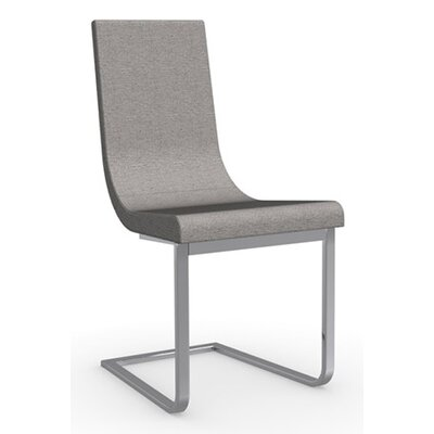 Cruiser Cantilever Chair Frame Color: Chromed, Upholstery Color: Taupe