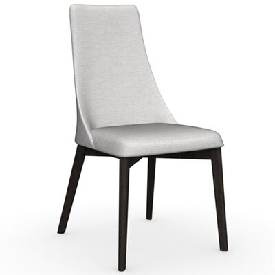 Etoile Chair Frame Color: Wenge, Upholstery Color: Sand