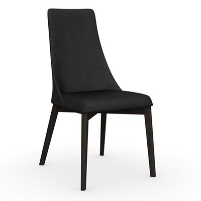 Etoile Chair Finish: Wenge, Upholstery: Fabric Anthracite