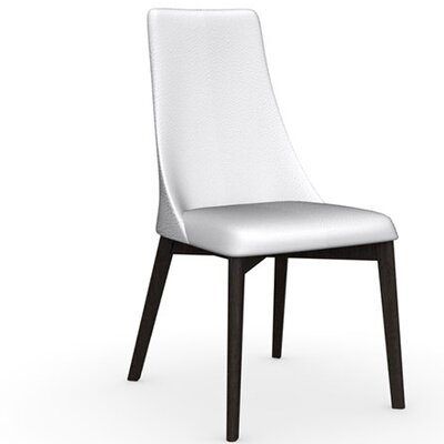 Etoile Chair Frame Color: Wenge, Upholstery Color: Optic White