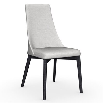 Etoile Chair Frame Color: Graphite, Upholstery Color: Sand