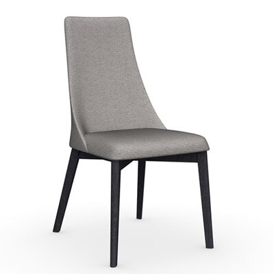 Etoile Chair Frame Color: Graphite, Upholstery Color: Cord