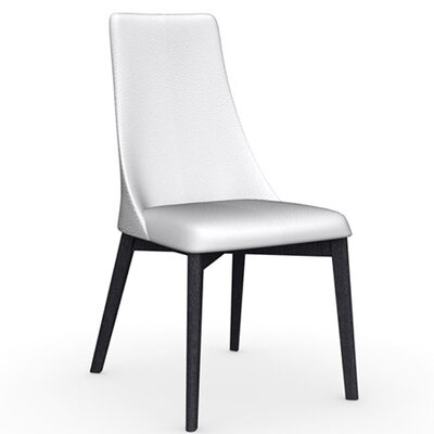 Etoile Chair Upholstery Color: Optic White, Frame Color: Graphite