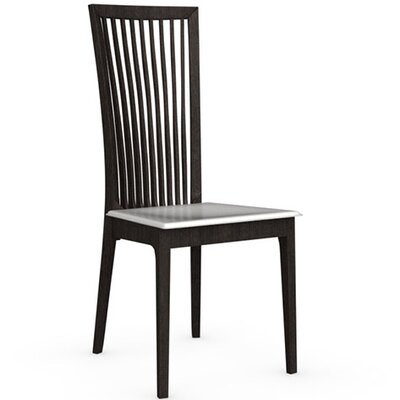 Philadelphia Chair Finish: Wenge, Upholstery: Optic White