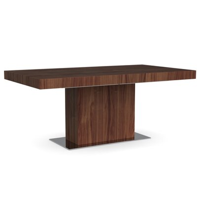 Park Extendable Dining Table Frame Finish: Walnut