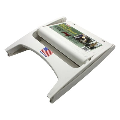 1-Step Plastic Step Stool with 300 lb. Load Capacity