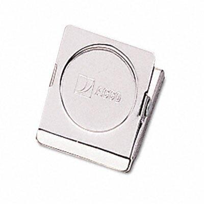 Magnetic Clip, Steel, 7/8 Capacity (Set of 4)