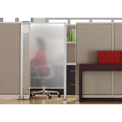 """Quartet & Reg Workstation 1 Panel Room Divider, 64"""" H x 38"""" W"""