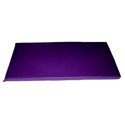 Rainbow Designer Utility Mat Color: Grape