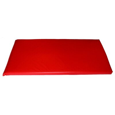 Rainbow Designer Utility Mat Color: Lipstick Red