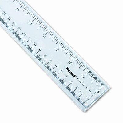 "Westcott See Through Acrylic Ruler, 18"" (Set of 3) ACM10564"
