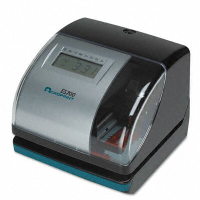 Acroprint Es700 Digital Automatic time Recorder