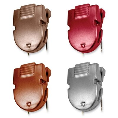 Panel Wall Clips, 40Sheets, 1/2x1x1-3/8, 20 per Box, Diesel Colors