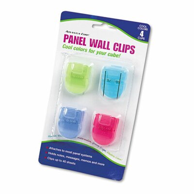 Fabric Panel Wall Clip (Set of 2)