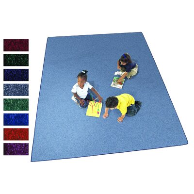 Endurance Rug Color: Royal Blue, Rug Size: 12 x 18