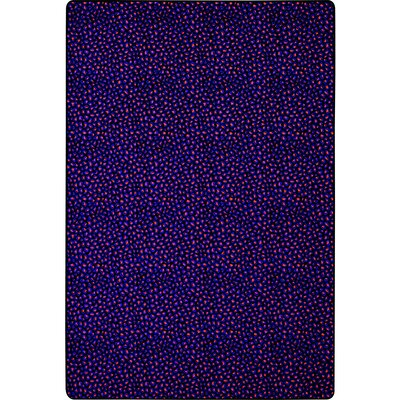 Blue/Red Area Rug Rug Size: Rectangle 8 x 12
